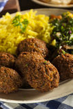 Healthy Vegetarian Falafel Balls Royalty Free Stock Photos