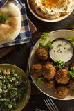 Healthy Vegetarian Falafel Balls Stock Photos