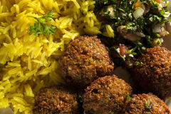 Healthy Vegetarian Falafel Balls Royalty Free Stock Image