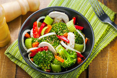 Healthy vegetarian food Royalty Free Stock Photo