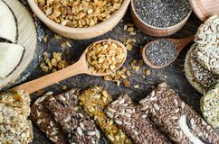 Healthy vegetarian food concept royalty free stock photos