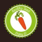 Healthy vegetarian food design Stock Photography