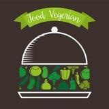 Healthy vegetarian food design Stock Photo