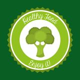 Healthy vegetarian food design Royalty Free Stock Photography
