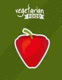 Healthy vegetarian food design Stock Photos