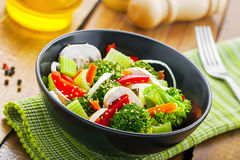 Healthy vegetarian food Stock Image