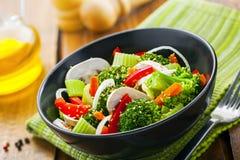 Healthy vegetarian food Stock Photography