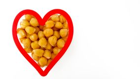 Healthy vegetarian heart Stock Photography