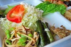 Healthy vegetarian meal Stock Image