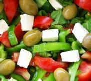 Healthy vegetarian Salad Stock Images