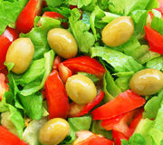Healthy vegetarian Salad Stock Photography