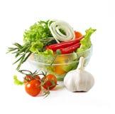 Healthy vegetarian salad Royalty Free Stock Photos