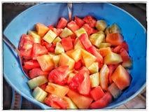 Healthy Vegetarian Salad Recipes royalty free stock image
