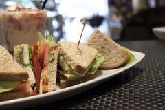 Healthy Veggie Sandwich Stock Photography