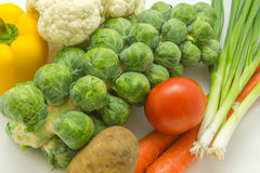 Healthy Vegtables Royalty Free Stock Photos