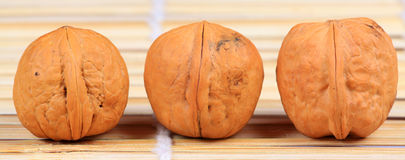 Healthy walnuts Royalty Free Stock Photos