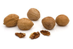 Healthy walnuts Royalty Free Stock Photo