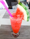 Healthy watermelon smoothie Royalty Free Stock Photography