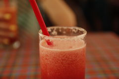 Healthy watermelon smoothie. Thailand. Stock Photography