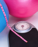 Healthy Weight Scale Royalty Free Stock Photography