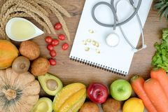 Healthy wellbeing Ketogenic diet healthy Vegetable diet nutrition and medication royalty free stock photo