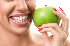Healthy white teeth Stock Image