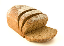 Healthy whole wheat bread Royalty Free Stock Photos