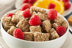 Free Healthy Whole Wheat Shredded Cereal Royalty Free Stock Photo - 41069115