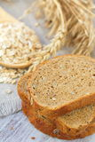 Healthy wholegrain bread Stock Images