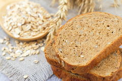Healthy wholegrain bread Royalty Free Stock Photo