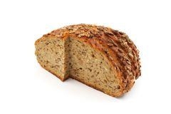 Healthy wholemeal bread Stock Photos