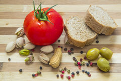 Healthy and Wholesome Food Stock Photo