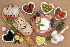 Healthy and Wholesome Food Stock Image