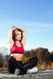 healthy woman Στοκ εικόνες με δικαίωμα ελεύθερης χρήσης