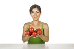 Healthy woman Royalty Free Stock Photography