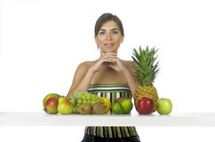 Healthy woman Royalty Free Stock Photos
