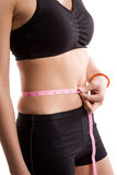 Healthy woman stock images