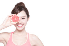 The healthy woman Royalty Free Stock Images