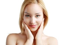 Healthy Woman Face Royalty Free Stock Photography