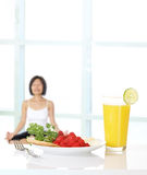 Healthy Woman Lifestyle Stock Photography