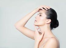 Healthy Woman. Natural Make-up royalty free stock photography