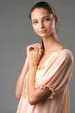 Healthy woman portrait Stock Photos