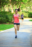 Healthy woman runner at park Royalty Free Stock Image