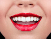 Healthy woman teeth Royalty Free Stock Photography