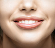 Healthy woman teeth and smile Stock Photo