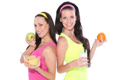 Healthy women Royalty Free Stock Photography
