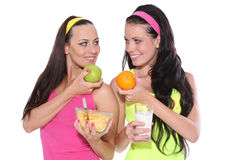 Healthy women Stock Image