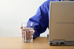 Healthy work environment stock photography