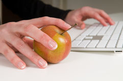 Healthy Working Stock Photography