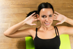 Healthy workout Stock Photography